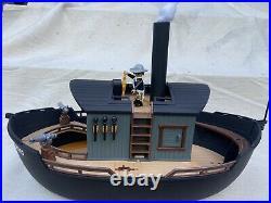 Playmobil confederate Civil War Southern Custom Western Ship