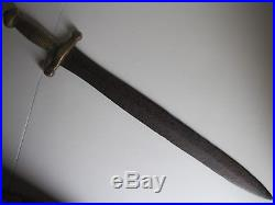 Pre-Civil War Era Model 1831 French Short Sword Confederate Star Marked