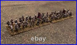 Pro-painted AB Miniatures 15mm American Civil War Confederate Brig. (107+ figs.)