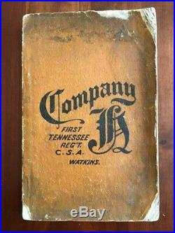 RARE 1900 Co. Aytch Maury Grays, 1st Tennessee Regt CSA Confederate Civil War TN