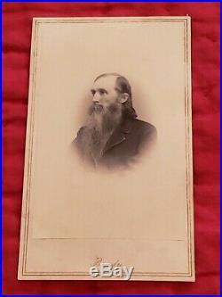 RARE Mathew Brady CDV Civil War Confederate General Ambrose Powell Hill