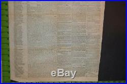 Rare Richmond VA Confederate States Civil War Newspaper Aug 1861 Slave Ads
