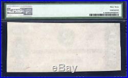 Red T-70 1864 $2 Confederate Currency Pmg 63 CIVIL War Note 31792