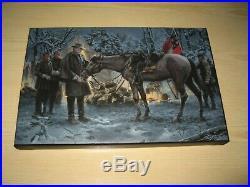 Robert E. Lee Confederate Civil War Limited Edition Canvas print 1 of 50