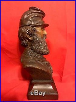 Ron Tunison Confederate Stonewall Jackson Civil War Cold Cast Bronze Bust 54/350