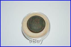 S. Buckley & Co Birmingham Confederate Civil War Coat Button C. S. A CSA w Shank