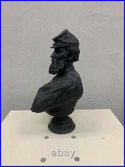 S. S. McGraw Confederate Stonewall Jackson Civil War Cold Cast Bronze Bust