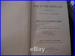 SET 110 WAR OF THE REBELLION Official Records Union/Confederate Armies CIVIL WAR