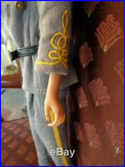 Sexy Civil War Confederate Female Officer Doll 16 Beautiful Details CSA Uniform