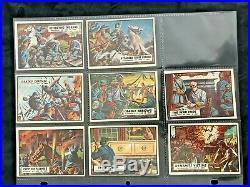 Sharp 1962 Topps Civil War News Complete 88 Card Set & 21 Confederate Bills