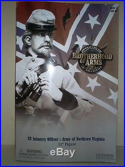 Sideshow 12 Inch CIVIL War Confederate Army Northern Virginia Infantry Officer M