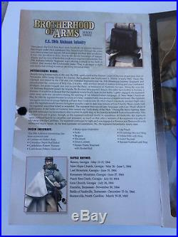 Sideshow Toys Civil War Confederate 29th Alabama Infantry 12 Action Figure, New