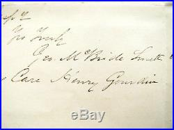 South Carolina CIVIL War Confederate Charleston Letter