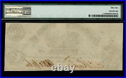 T-13 $100 1861 Confederate Currency CSA Civil War Graded PMG 55