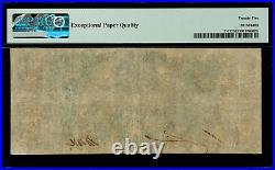 T-17 / PF-2 $20 1861 Confederate Currency CSA Civil War Graded PMG 25 EPQ