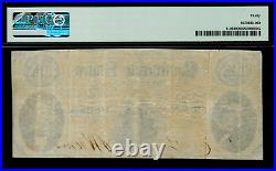 T-25 $10 1861 Confederate Currency CSA Civil War Graded PMG 30
