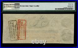 T-41 $100 1862 Confederate Currency CSA Civil War Graded PMG 64 EPQ