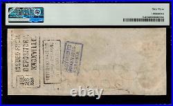 T-41 / PF-6 $100 1862 Confederate Currency CSA Civil War Graded PMG 63