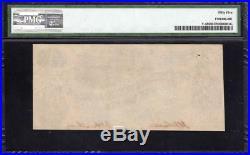 T-45 1862 $1 Confederate Currency Pmg 55 CIVIL War 26334