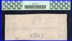 T-70 1864 $2 CONFEDERATE CURRENCY PCGS 35 PPQ Civil War Money 63119