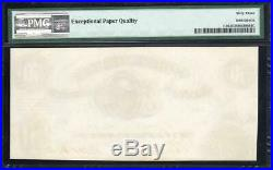 T-8 1861 $50 Confederate Currency Pmg 63 Epq CIVIL War Money 32776