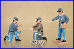 TROPHY MINIATURES ACW45 AMERICAN CIVIL WAR CONFEDERATE SECRET WEAPON SET pjm