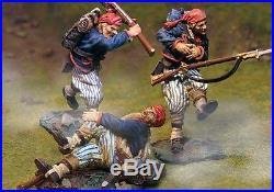 The Collectors Showcase CIVIL War Confederate Cs00295 Wheats Wounded Set Mib