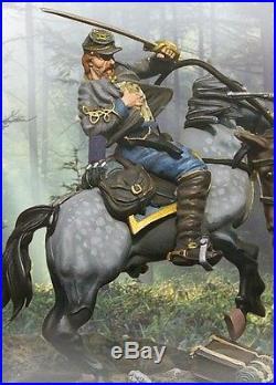 The Collectors Showcase CIVIL War Confederate Cs00330 Capt. Latane Mib
