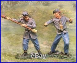 The Collectors Showcase CIVIL War Confederate Cs00448 Cannon Ignitor Swabber Mib