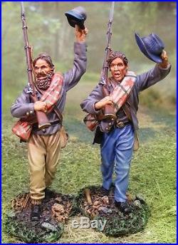 The Collectors Showcase CIVIL War Confederate Cs00536 No. 2 Csa Waving Mib