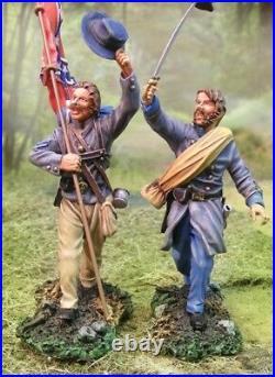 The Collectors Showcase CIVIL War Confederate Cs00537 Csa Command Set Mib
