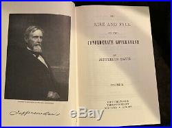 The Rise and Fall of the Confederate Government, 2 Volume Slipcase Set, J. Davis