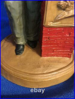 Tom Clark Large Civil War Confederate Soldier Statue 1986 15 Tall GC