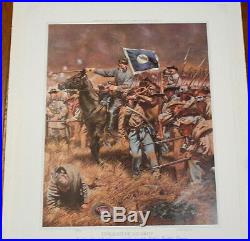 Twilight of an Army RICK REEVES Signed #235/750 Confederate Civil War Print