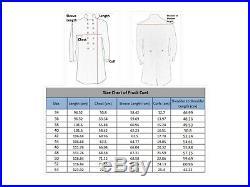 US Civil War Confederate General's Frock Coat- All Sizes