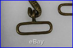 US Civil War Confederate Union Officer's Import Two Headed Snake Buckle. M171