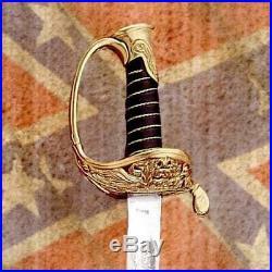 US Civil War Replica Confederate Staff & Field Officer's 36 Sword with Scabbard