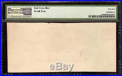 Unc 1861 $50 Dollar Confederate States Currency CIVIL War Note Money T-8 Pmg 62