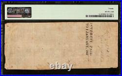 Undated $100 Confederate States Currency CIVIL War Note Money T-39 Pmg Error