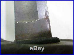Us CIVIL War Wristbreaker Heavy Cavalry Sword W Scabbard Unmark Confederate Impo