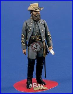 Verlinden 120mm (1/16) Confederate Cavalry Major General J. E. B Jeb Stuart 1470