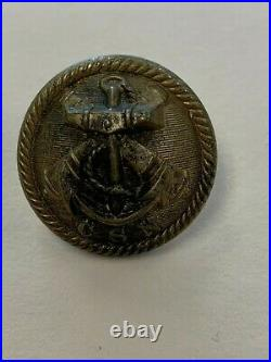 Very Sharp Non Dug Confederate Navy Civil War Coat Button 35mm Firmin & Sons