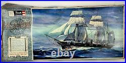 Vintage Revell CSS Alabama Confederate Civil War Ship Model 32-3/4 long