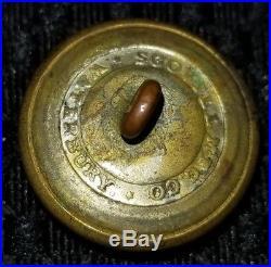 Virginia Civil War Era Confederate Button Period Rare Great Condition Must See