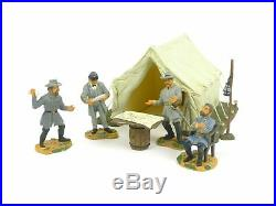 W Britain 17464 American Civil War Camp Scene Confederate Crisis At Chickamauga