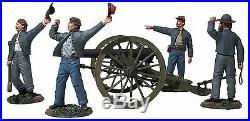W Britain 31264 We Hit em Boys! Confederate 10-Pound Parrott Gun 6 Pc Set