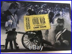 W Britain American CIVIL War Confederate Crisis At Chickamauga #17464 Mib