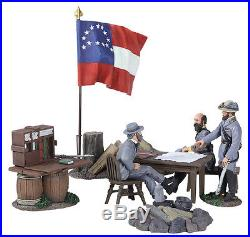 W Britain American Civil War 31207 Confederate Generals Lee Ewell And Early Set