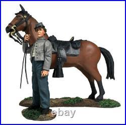 W. Britain Civil War Confederate Orderly Holding Horse 31270 ACW