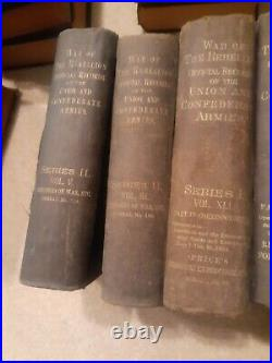 War Of The Rebellion Official Records Of The Union And Confederate Armies CIVIL